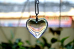 Glass Heart Pendant - Public Domain Pictures