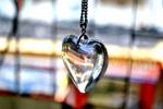 Heart Glass Pendant - Public Domain Pictures