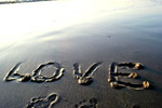 Love Beach Sand - Public Domain Pictures