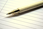 Pen Paper - Public Domain Pictures