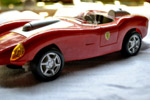 Red Colored Sports Car Toy - Public Domain Pictures