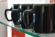 Coffee Black Mugs - Public Domain Pictures