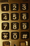 Cordless Phone Buttons Closeup - Public Domain Pictures