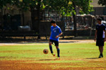 Soccer Ball Player Practise - Public Domain Pictures
