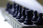 Chess Board Angle View - Public Domain Pictures