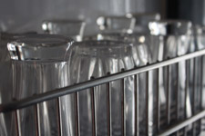 41-glasses-on-rack - Public Domain Pictures