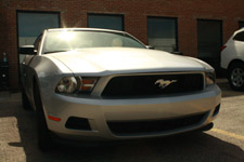 Ford Mustang Car Front - Public Domain Pictures