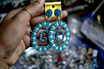 Earrings Market - Public Domain Pictures