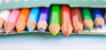 Colored Pencils Children - Public Domain Pictures