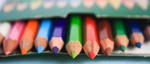 Colored Pencils Kids - Public Domain Pictures