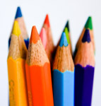 Pencil Colors - Public Domain Pictures