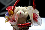 Love Gift Teddy Basket - Public Domain Pictures