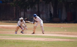 Men Playing Cricket - Public Domain Pictures