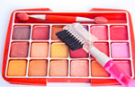Makeup Colors Brushes - Public Domain Pictures