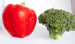 Bell Pepper Broccoli - Public Domain Pictures