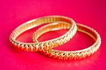 Gold Bracelets Bangles - Public Domain Pictures