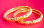Gold Jewelry Bangles - Public Domain Pictures