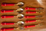 Spoons Forks Knives - Public Domain Pictures