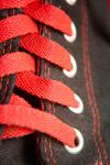 Black Shoes Red Lace - Public Domain Pictures