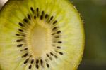 Kiwi Cut Section Close - Public Domain Pictures