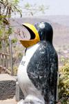 Penguin Shaped Dustbin - Public Domain Pictures