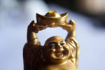 Laughing Buddha Figure - Public Domain Pictures