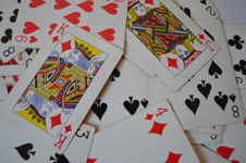515-randomly-thrown-cards - Public Domain Pictures