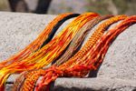 Orange Threads - Public Domain Pictures