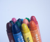 Crayon Colors Bunch - Public Domain Pictures