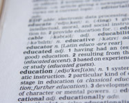 Education Word Dictionary - Public Domain Pictures