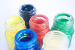 Water Color Bottles - Public Domain Pictures
