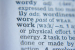 Work Word Dictionary - Public Domain Pictures