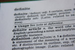 Definition Word - Public Domain Pictures