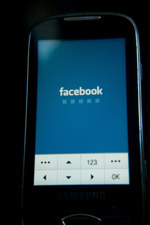 Facebook Mobile Phone - Public Domain Pictures
