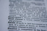 Finale Word - Public Domain Pictures