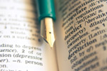 Fountain Pen Dictionary - Public Domain Pictures