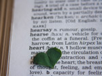 Heart Word Dictionary - Public Domain Pictures
