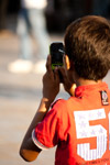Child Playing Mobile Phone - Public Domain Pictures