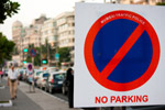 No Parking Sign - Public Domain Pictures