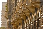 Taj Mahal Hotel Balconies - Public Domain Pictures