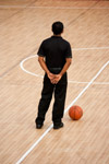 Basketball Official - Public Domain Pictures