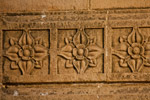 Flower Pattern On Wood - Public Domain Pictures