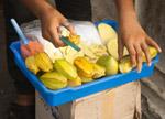 Raw Mango Seller - Public Domain Pictures
