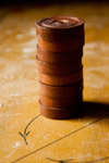 Carrom Coins Stack - Public Domain Pictures