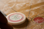 Carrom White Stricker - Public Domain Pictures