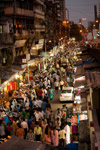Crowded Street Mumbai - Public Domain Pictures