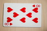 Eight Of Hearts - Public Domain Pictures