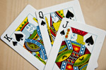 King Queen Jack Cards - Public Domain Pictures