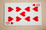 Nine Of Hearts - Public Domain Pictures