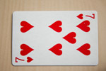 Seven Of Hearts - Public Domain Pictures